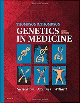 Thompson & Thompson Genetics in Medicine, 8e (Thompson and Thompson Genetics in Medicine)