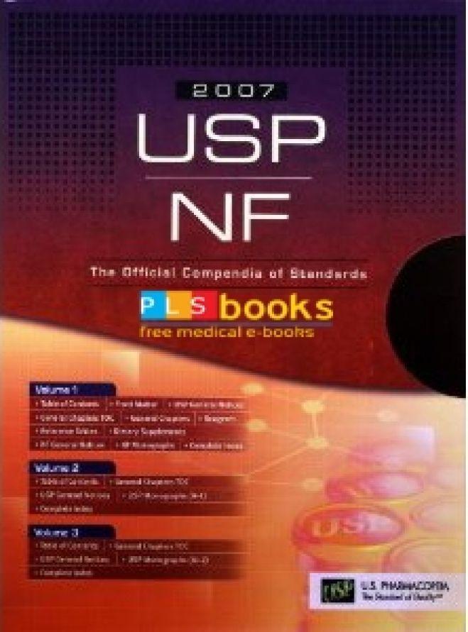 United States Pharmacopeia 30-NF 25
