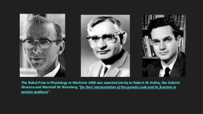 H. Gobind Khorana - Biographical